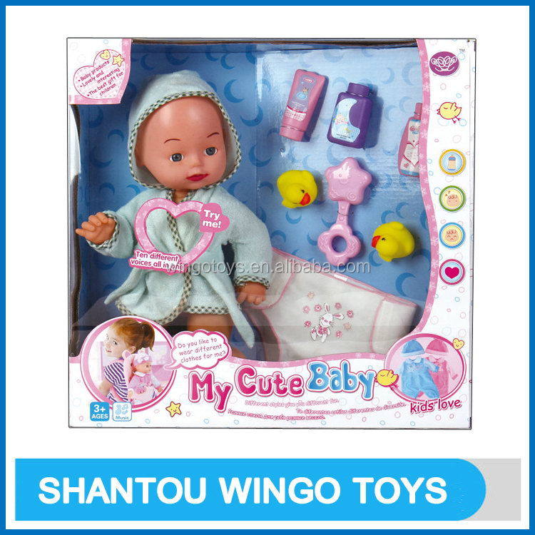 Excellent quality hot selling toy Asian hot baby doll