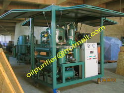 portable insulating oil filtration plant, switchgear oil cleaning machine, waste oil disposal
