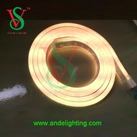 New design 9*21mm font edges RGB neon light for Chrstiams decoration