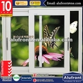 Tempered Glass Sliding Window/Aluminum Frame Window for Hot Sale