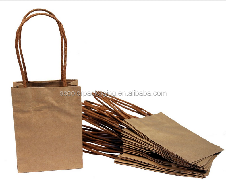 List manufacturers of gift paper bag brown buy gift paper for Brown paper bag craft