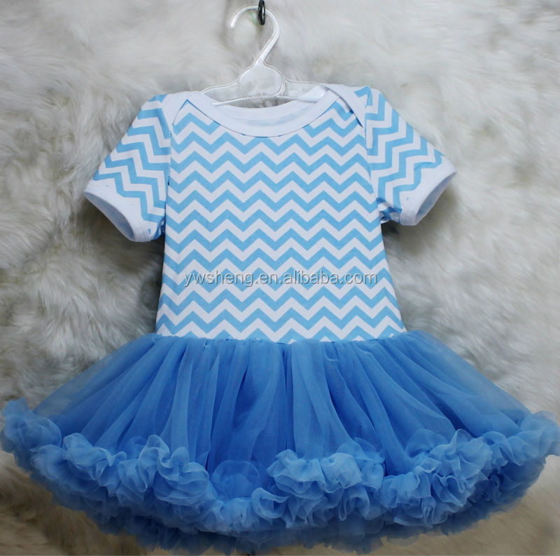 High quality girls stripe dress baby romper gymnastic leotard