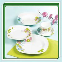 exclusive porcelain dinnerware,dinner set square,ceramic deep plates dinnerware sets