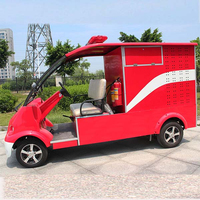 China OEM manufacturers Electric antique fire truck for sale DVXF-3