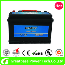 Lead Acid Maintenance Free Car Battery MF57539, Vehicle starting battery