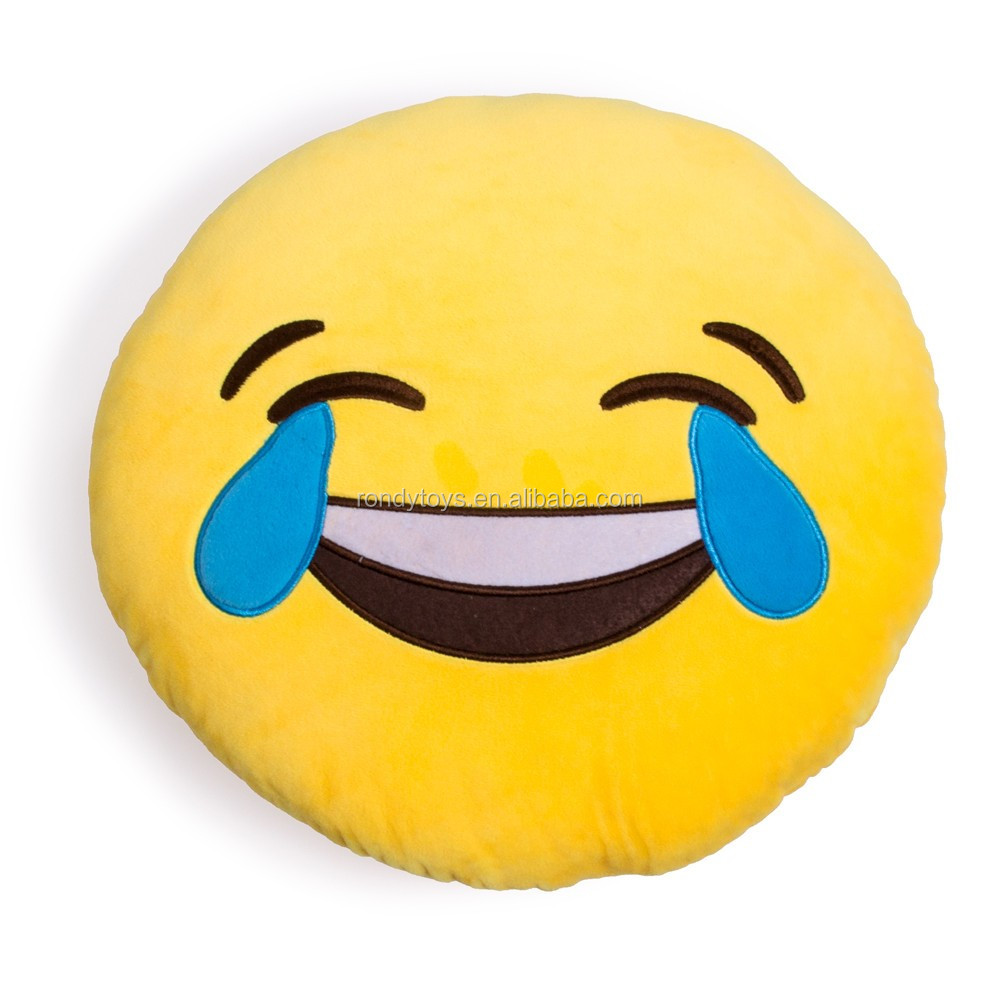 Wholesale Stuffed Toys Pillow Smiley Plush