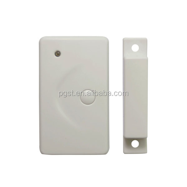 Home window/ door usage door alarm sensor with test and emergency button
