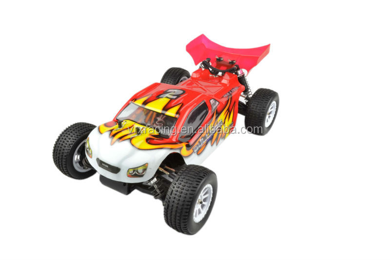 1/10 scale 4WD high speed VRX brand nitro powered rc model car