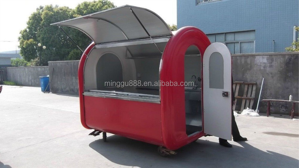 Vending bicycle / Mobile cooking truck / Fried ice cream cart