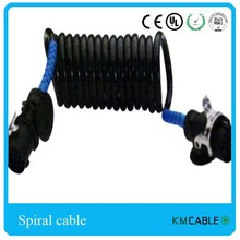 7 PIN Trailer Power Coiled Cable