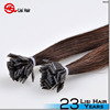 YBY Beautiful straight nail tip hair extension,fan tip hair extensions and flat tip hair