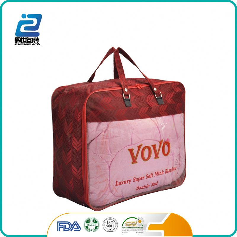 New Arrival Custom Travel Leather Blanket Bags Packaging Bag