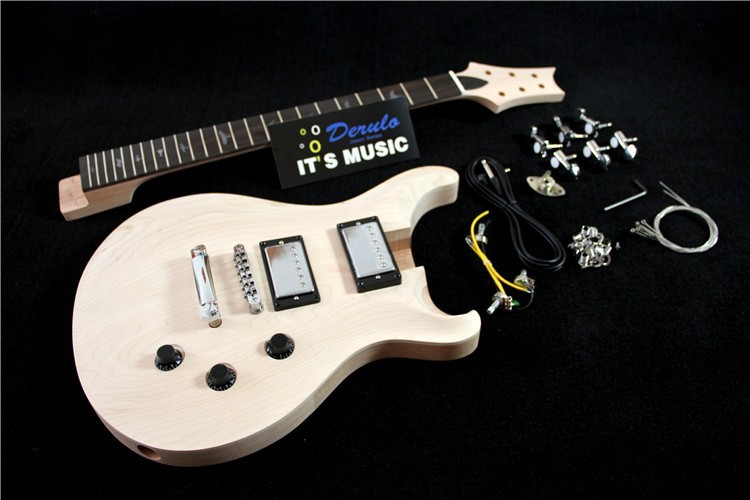 Cheap Competitive DIY High Electric Guitar Build Kits