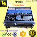 FP9000 Class TD Audio Stereo Amplifier for Active Speaker