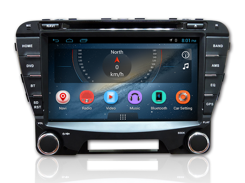 Android 4.4.4 Capacitive 2 Din Touch Screen Car Radio DVD CD Player for haima m5 Car with GPS Navigation