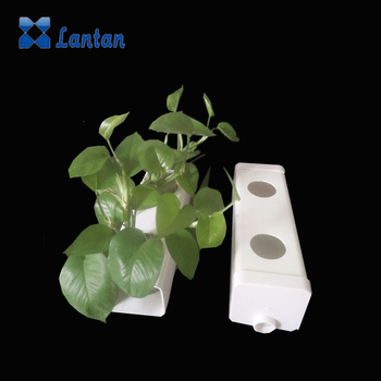 Greenhouse planting use commercial hydroponics pvc pipe and gutter with high quality
