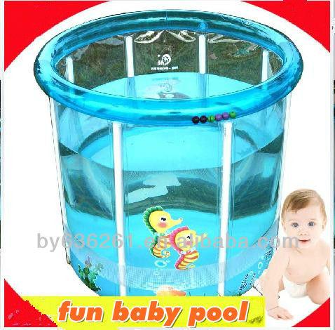 Gonflable b b en plastique dur transparent piscine for Piscine en plastique