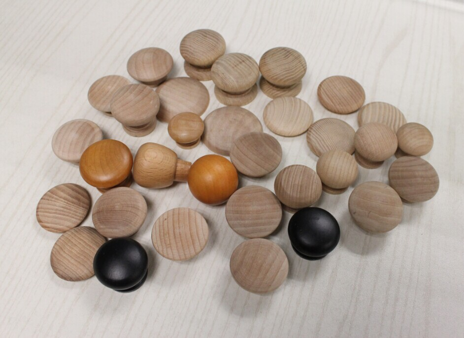 Wholesale wooden kitchen cabinet door knobs