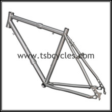 Curving Down tube 26er titanium bicycle frame with top-quality TSB-ODM1202