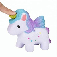 2019 new innovative products squishy toys soft PU kawaii jumbo unicorn squishies slow rising toys