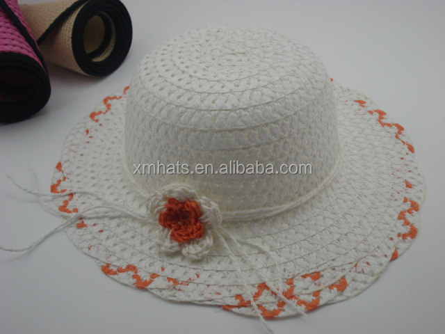 China gold supplier Reliable Quality children festival straw cowboy hat