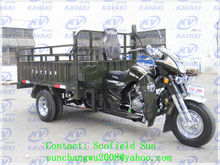 200CC 1.3m*2.2m big cargo box 5 wheel motorcycle