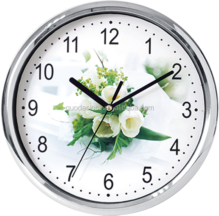 2014 Simple Cheap Promotion Plastic Round Wall Clock Buy