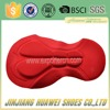 Wholesale red color bike pads for cycling wear from China
