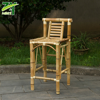 NEW ZY 511 Bar Chair Bamboo