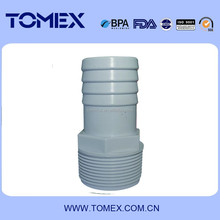 ASTM SCH40 PVC fittings socket end and thread end suppiler