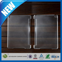 C&T New style back smart clear soft pc case for ipad mini 3