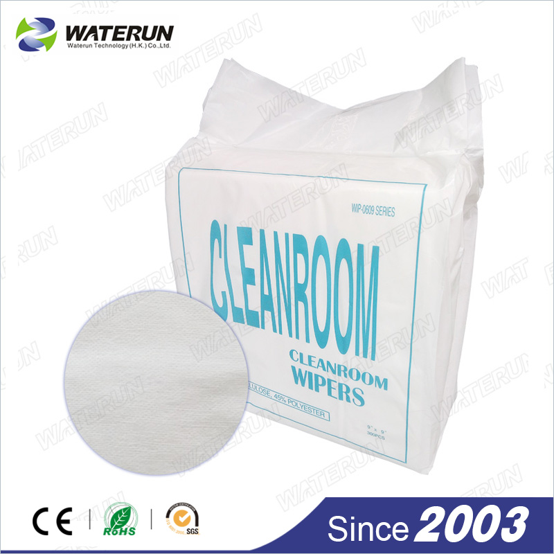 Non woven wiper for Cleanroom use