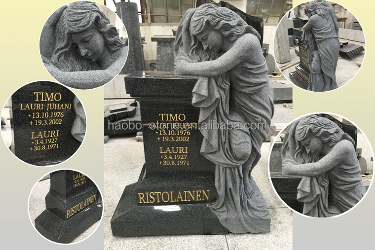 Haobo European Style Granite Tombstones and Monuments
