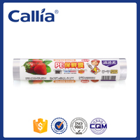 High Quality PE Food Package Plastic Food Wrap Film Cling Film on roll