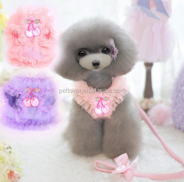 New products Dog Dress With Harness