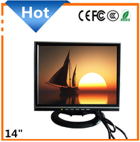 "14 Inch TFT LCD TV Monitor vga hd-mi dvi AV input 14"" Car Monitor"