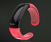 2016 factory promotion bluetooth bracelet with vibration/hands free smart wrist band