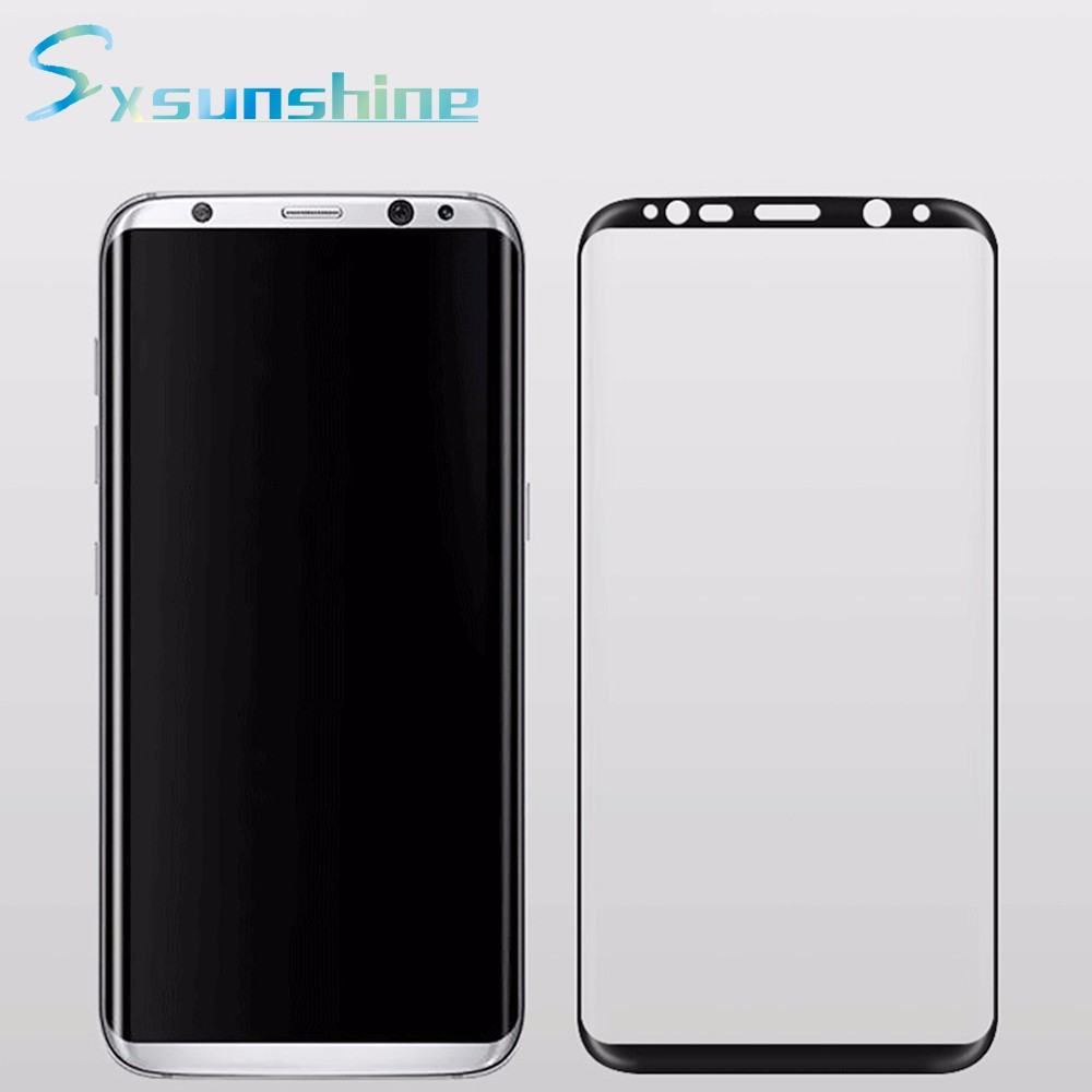 save 50% OEM ODM transparency tempered glass screen protector for samsung galaxy s8