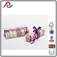 Clear Plastic Macaron Packaging Box Wholesale