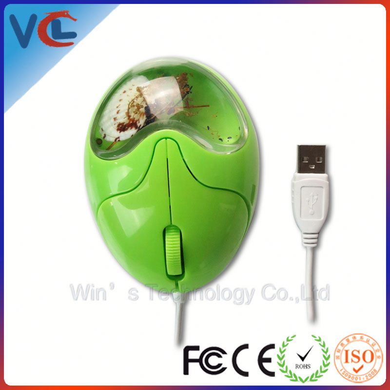 new product!! promotion new idea and nice egg green mouse