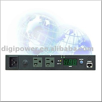 2 ports 115V 15 amp IP PDU- Switched/Monitored, the remote control