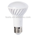 cri>80 pf>0.9 hight brightness R63 ceramic led bulb light