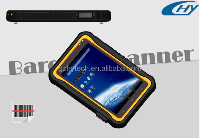 Industrial 7 inch android barcode tablet pc