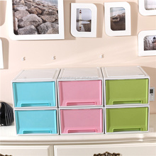 Storage Box/Kids toy storage/ Clear plastic drawer for household