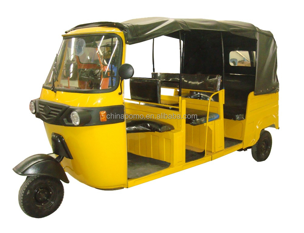 High PerformanceAdult Passenger Tricycle,Tuk Tukfor Sale Kavaki,Auto Rickshaw