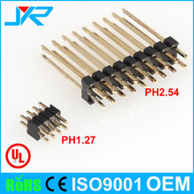 1.27*2.0mm pitch 8 pin header dual row 180 for electric meter