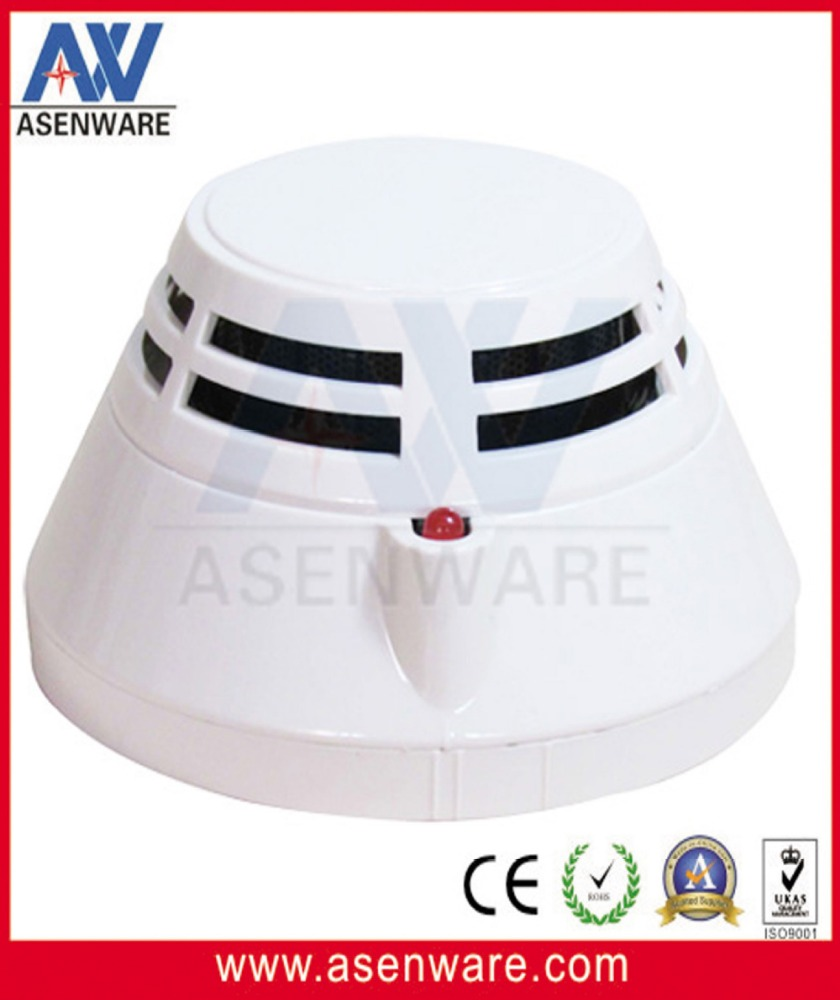 2Wire 4Wire Connection Non Polarity Addressable Optical Smoke Detector