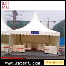 aluminium frame fire,water,sun proof solar panel tent 850G/SQM top cover 650G/SQM sidewall