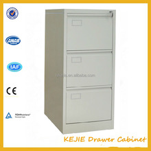 White Solid Metal Wall Tall Drawer Cabinet Powder Coating Steel Drawer Hanging Cabinet