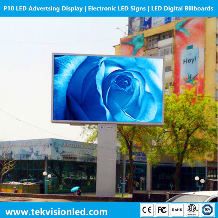 TekVision P10 Advertsing LED Display Outdoor | Electronic LED Signs | LED Digital Billboards